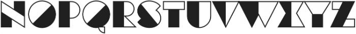 Eutopia Yin otf (400) Font UPPERCASE