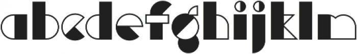 Eutopia Yin otf (400) Font LOWERCASE