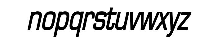 Eurasia Condensed BoldItalic Font LOWERCASE