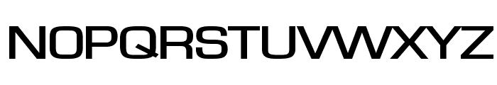 Eurasia Extended Bold Font UPPERCASE