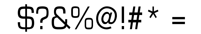 Eurasia Normal Font OTHER CHARS