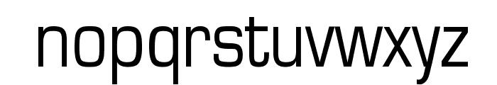 Eurasia Normal Font LOWERCASE