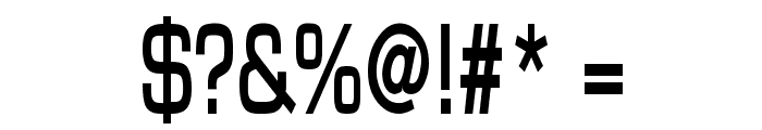 Eurasia Thin Bold Font OTHER CHARS