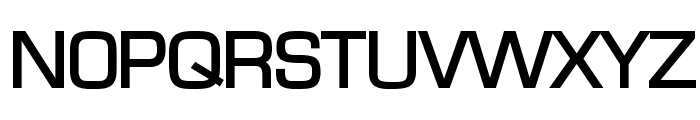 Eurasia Wide Bold Font UPPERCASE