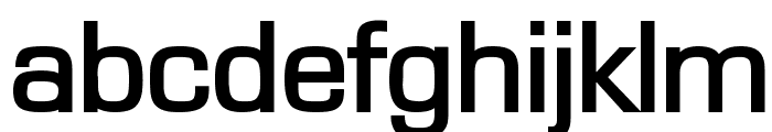 Eurasia Wide Bold Font LOWERCASE