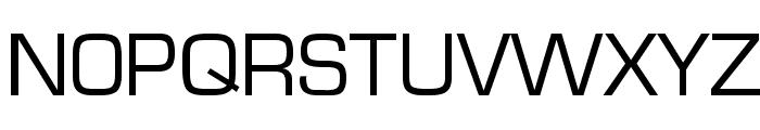Eurasia Wide Normal Font UPPERCASE