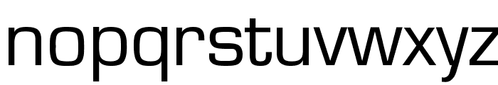 Eurasia Wide Normal Font LOWERCASE