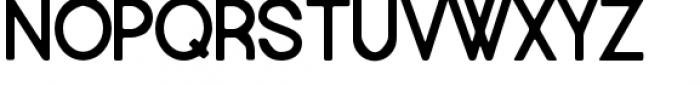 Europe Underground Rounded Font UPPERCASE