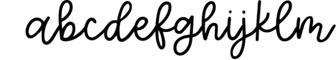 Eucalyptus Spearmint, A Smooth Monoline Font Duo Font LOWERCASE