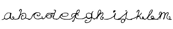 Eu mezmo! Font LOWERCASE