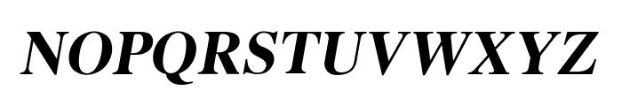 EucrosiaUPC Bold Italic Font UPPERCASE