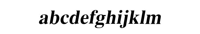 EucrosiaUPC Bold Italic Font LOWERCASE