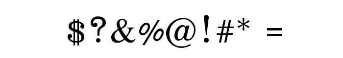 EucrosiaUPC Font OTHER CHARS