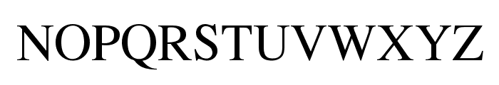 EucrosiaUPC Font UPPERCASE