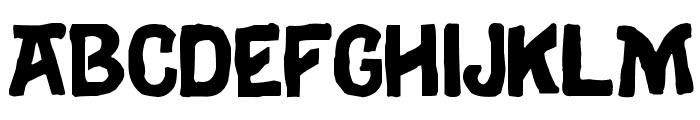 Eulogy Font UPPERCASE