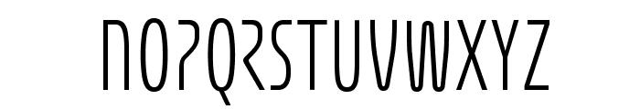 Eunomia Light Font LOWERCASE