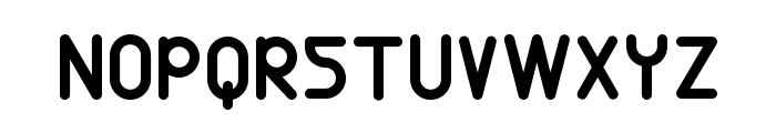 Eunuch Standard Font UPPERCASE