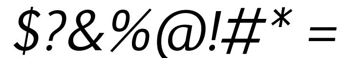 Euphemia UCAS Italic Font OTHER CHARS