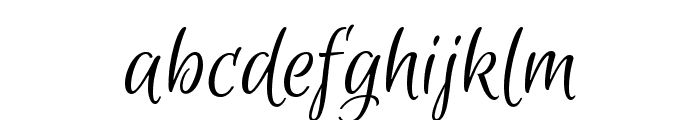 Euphoria Script Font LOWERCASE