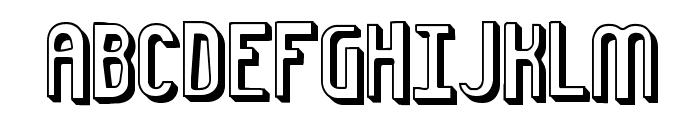 Euphoric 3D -BRK- Font UPPERCASE