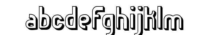 Euphoric 3D -BRK- Font LOWERCASE