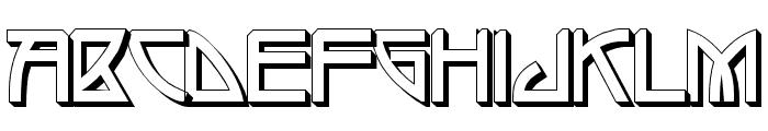 Eupithecia Font UPPERCASE