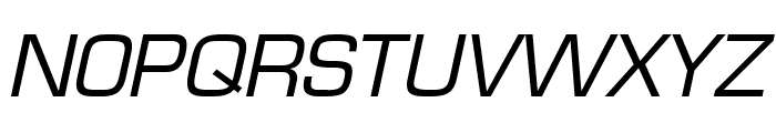 Eurasia Italic Font UPPERCASE