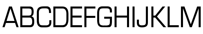 Eurasia Normal Font UPPERCASE