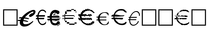 Euro Collection Font LOWERCASE