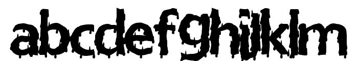 EuroHorror Font LOWERCASE