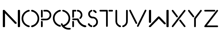 Eurofurence Modified Font UPPERCASE