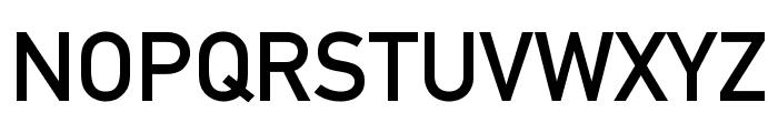 EuropaMittelschrift Font UPPERCASE
