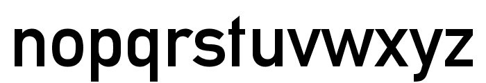 EuropaMittelschrift Font LOWERCASE