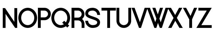 Europe Underground Font UPPERCASE