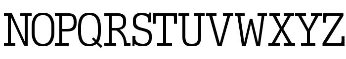 EuropeanTypewriter Font UPPERCASE