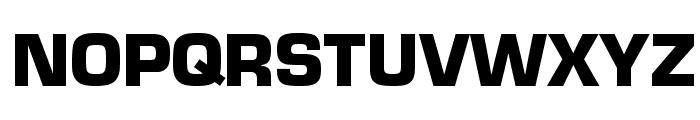 Eurostar Black Font UPPERCASE