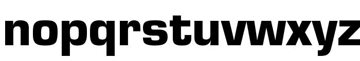 Eurostar Black Font LOWERCASE