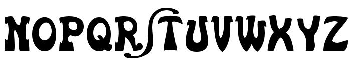 Euskal Font Normal Font UPPERCASE