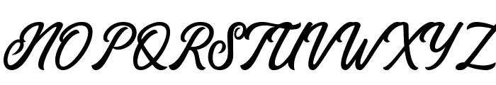 Eusthalia Clean Font UPPERCASE