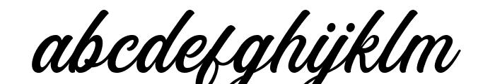 Eusthalia Clean Font LOWERCASE