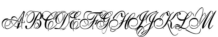Eutemia I Italic Font UPPERCASE