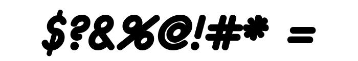 eurofurence  bolditalic Font OTHER CHARS