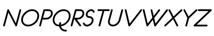 eurofurence  italic Font UPPERCASE