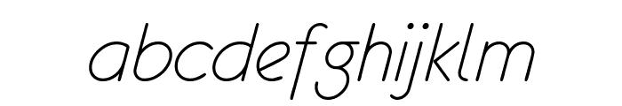 eurofurence light  italic Font LOWERCASE