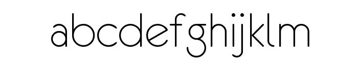 eurofurence light Font LOWERCASE