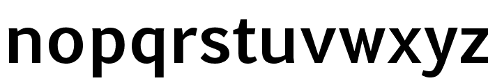 Euphemia UCAS Bold Font LOWERCASE