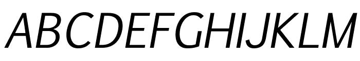 Euphemia UCAS Italic Font UPPERCASE