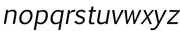 Euphemia UCAS Italic Font LOWERCASE
