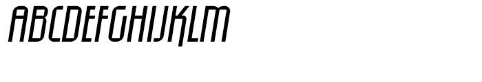 Eumundi Sans Book Italic Font UPPERCASE