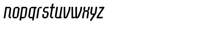 Eumundi Sans Book Italic Font LOWERCASE